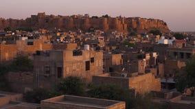 Miasto w Indiańskiej pustyni zbiory wideo