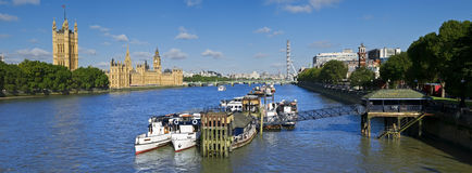 miasto Westminster Zdjęcia Royalty Free
