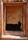 miasto widmo ramowy okno Zdjęcia Stock