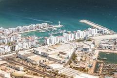 Miasto widok Agadir, Maroko Zdjęcie Stock