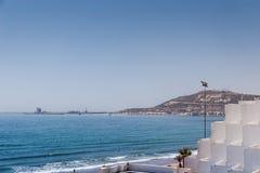 Miasto widok Agadir, Maroko Obraz Royalty Free