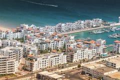 Miasto widok Agadir, Maroko Zdjęcia Stock