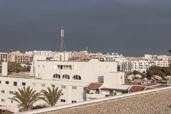 Miasto widok Agadir, Maroko Zdjęcia Royalty Free