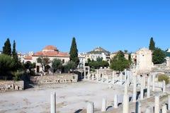 Miasto widok Ateny, Grecja Zdjęcie Stock