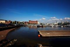 Miasto widok Helsinki obraz royalty free