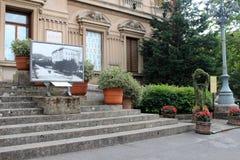 Miasto widok Montecatini Terme Zdjęcia Royalty Free