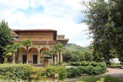Miasto widok Montecatini Terme Obrazy Royalty Free