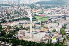 Miasto widok od kąta zdjęcia royalty free