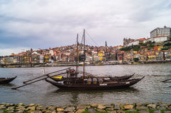 Miasto widok Porto i Douro rzeka w Porto, Portugalia Obrazy Royalty Free