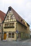 Miasto widok Rothenburg ob dera Tauber Fotografia Stock