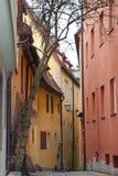 Miasto widok Rothenburg ob dera Tauber Zdjęcie Stock