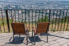 Miasto widok Tbilisi Gruzja Europa Obrazy Stock
