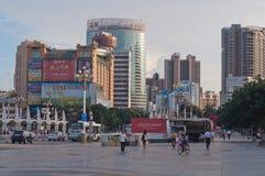 Miasto widok Zhuhai Obrazy Royalty Free