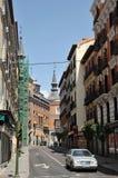Miasto widoki Hiszpański kapitał Obrazy Royalty Free
