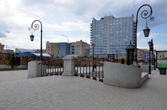 Miasto widoki Kazan Zdjęcia Stock