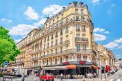 Miasto widoki Paryż Obrazy Royalty Free