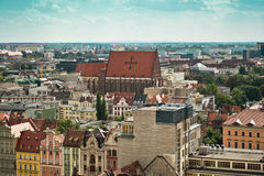Miasto Wrocławski, Polska Obraz Royalty Free