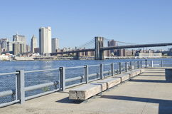 miasto wschodni nowy York rzeki Zdjęcie Royalty Free