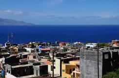 Miasto wyspa Obrazy Stock