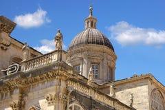 miasto wyszczególnia Dubrovnik starego obraz stock