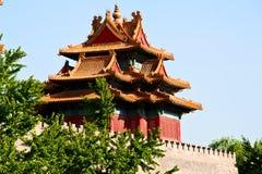 miasto zakazująca wieża obserwacyjna zdjęcia stock