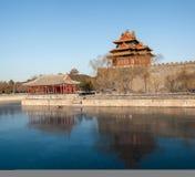 miasto zakazująca wieża obserwacyjna zdjęcie royalty free