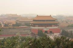 miasto zakazujący gugong Zdjęcie Royalty Free