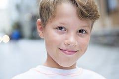 Miastowa chłopiec Obrazy Royalty Free