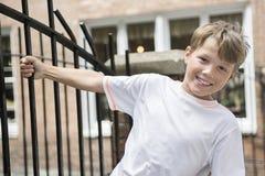 Miastowa chłopiec Fotografia Royalty Free