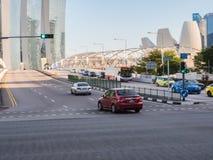 Miastowa droga w Singapur Zdjęcia Royalty Free