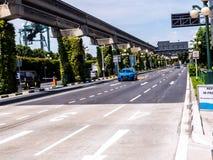 Miastowa droga w Singapur Fotografia Stock