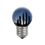 Miastowa elektryfikacja Fotografia Royalty Free
