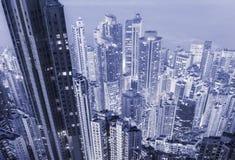 Miastowa gęstość zdjęcia stock