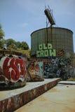 Miastowa graffiti sztuka Zdjęcia Royalty Free