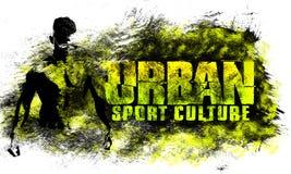 Miastowa miasto sztuka Uliczny sport grafiki styl Moda elegancki druk Szablon odzież, karta, etykietka, plakat emblemat, koszulka ilustracja wektor