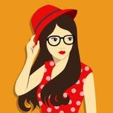 Miastowa mody dziewczyna Zdjęcie Royalty Free