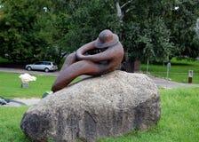 Miastowa rzeźba w Warszawa Obrazy Stock