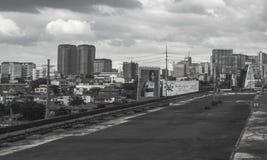 Miastowa scena przy Guadalupe w Makati mieście, metro Manila, Filipiny Zdjęcia Stock