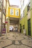 Miastowa scena w Aveiro, Portugalia Fotografia Royalty Free