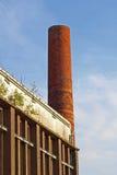 Miastowa stara fabryka Zdjęcie Stock