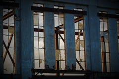 Miastowa stara fabryka Obraz Royalty Free