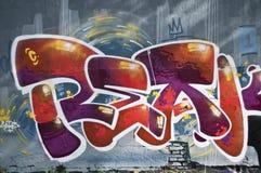 Miastowa sztuka - abstrakt Zdjęcie Stock