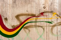 miastowa sztuki ściana Obraz Stock