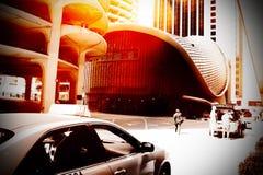 Miastowa uliczna scena Obrazy Royalty Free