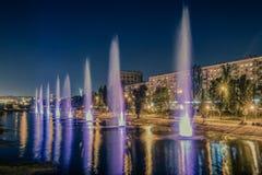 Miastowe fontanny Zdjęcie Stock