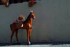 Miastowe Scenics ulicy - Kolorowe ulicy od Małego miasteczka, Meksyk Obrazy Royalty Free