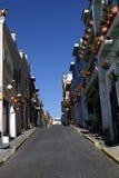 Miastowe Scenics ulicy - Kolorowe ulicy od Małego miasteczka, Meksyk Fotografia Royalty Free