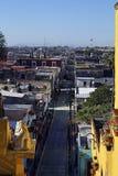 Miastowe Scenics ulicy - Kolorowe ulicy od Małego miasteczka, Meksyk Obraz Royalty Free