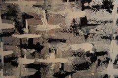 Miastowe Textured szarość, czerń, Beżowy tło Obraz Royalty Free
