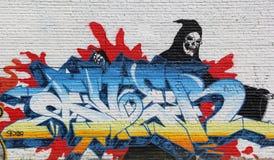 Miastowi graffiti Obraz Royalty Free